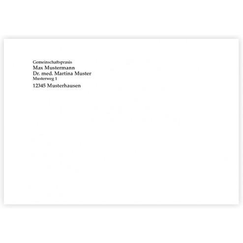 Briefumschläge C 6 ohne Fenster (1-farbig)